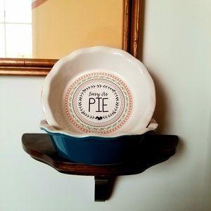 6 inch mini pie ceramic dishes #baking #pie #cook